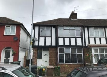 Thumbnail 3 bed semi-detached house to rent in Connaught Road, Luton