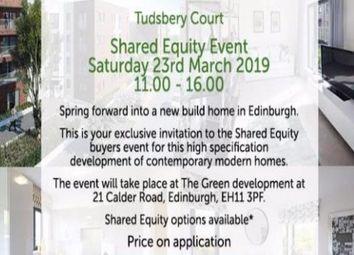 Thumbnail 2 bedroom flat for sale in Tudsbery Court, Edinburgh