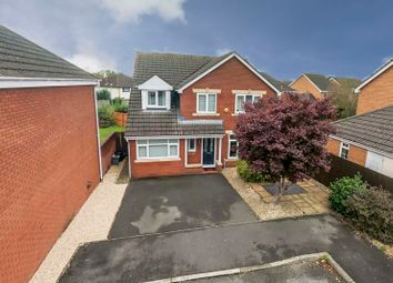 Thumbnail 5 bed detached house for sale in Windsor Gardens, Magor, Caldicot