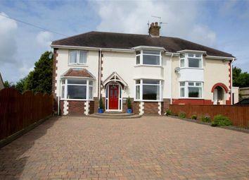 Thumbnail 4 bedroom semi-detached house for sale in Tirmynydd Road, Three Crosses, Swansea