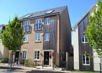Thumbnail 3 bed town house for sale in Lockgate Road, Pineham Lock, Northampton
