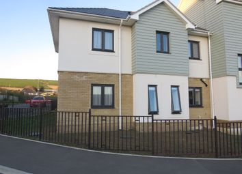 Thumbnail 3 bed terraced house for sale in Gentian Way, Weymouth