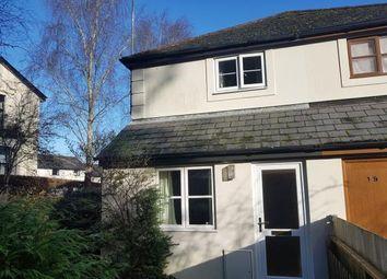 Thumbnail 1 bed end terrace house for sale in Bossell Park, Buckfastleigh, Devon