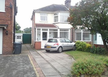 Thumbnail 3 bedroom semi-detached house for sale in Ermington Crescent, Hodge Hill