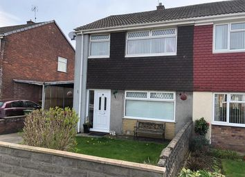 Thumbnail 3 bed semi-detached house to rent in Oakfield Crescent, Tonteg, Pontypridd