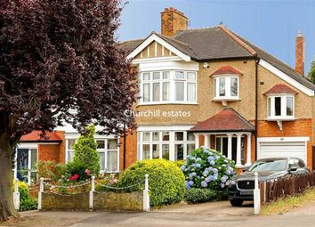 Thumbnail 4 bed semi-detached house for sale in High View Road, London