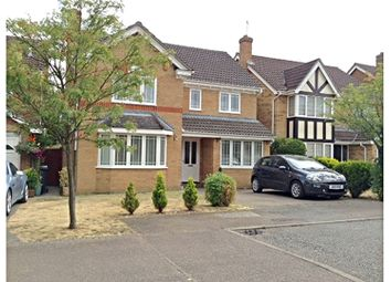 Thumbnail 4 bed detached house for sale in Leigh Drive, Bishop's Stortford