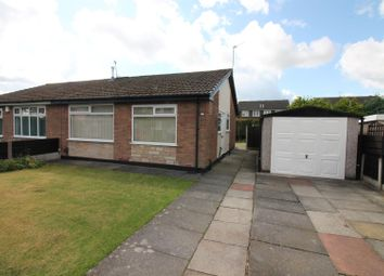 Thumbnail 2 bed semi-detached bungalow to rent in Cross Knowle View, Urmston, Manchester