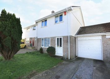Thumbnail 3 bedroom link-detached house for sale in Sunderland Close, Plymstock, Plymouth