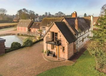 Thumbnail 5 bed country house for sale in Dog Lane, Nether Whitacre, Coleshill, Warwickshire
