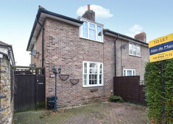 Thumbnail 2 bedroom end terrace house to rent in Woodbank Road, Bromley