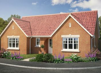 Thumbnail 3 bedroom detached bungalow for sale in Plot 206 Edgecomb Park, Stowmarket, Suffolk