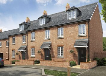"""Thumbnail 3 bed terraced house for sale in """"Nugent"""" at Wilkinson Road, Kempston, Bedford"""