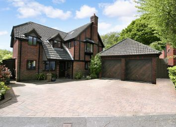 Thumbnail 5 bed detached house for sale in Old Priory Close, Hamble, Southampton