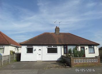 Thumbnail 2 bed semi-detached bungalow to rent in Birds Lane, Lowestoft