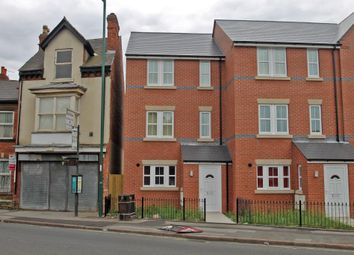Thumbnail 4 bedroom town house to rent in Vernon Road, Basford, Nottingham