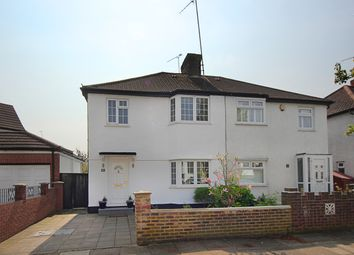 Thumbnail 4 bed semi-detached house for sale in Crossway, London
