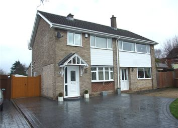 Thumbnail 3 bed semi-detached house for sale in Longley Lane, Spondon, Derby