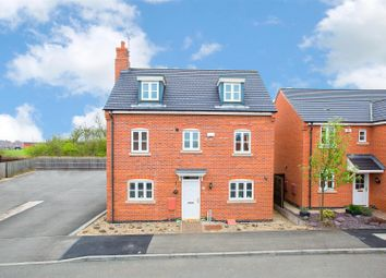 Thumbnail 5 bedroom town house for sale in Yaffle Crescent, Kettering
