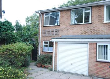 Thumbnail 3 bed semi-detached house for sale in Priory Road, Sunningdale, Ascot