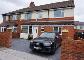 Thumbnail 5 bedroom semi-detached house for sale in Yewtree Gardens, Walkerville, Newcastle Upon Tyne