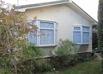 Thumbnail 2 bed mobile/park home for sale in Tremarle Home Park, North Roskear, Camborne, Cornwall, 0At