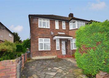 Thumbnail 2 bedroom flat to rent in Caernarvon Drive, Ilford, Essex