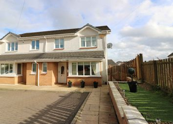 Thumbnail 3 bed semi-detached house for sale in Wellside Avenue, Airdrie