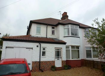 Thumbnail 3 bed semi-detached house to rent in Arncliffe Road, Harrogate
