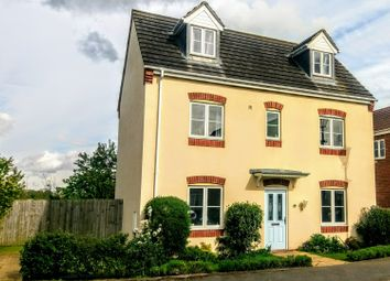 Thumbnail 4 bed detached house for sale in Elder Close, Lincoln
