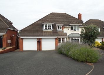Thumbnail 4 bed detached house to rent in Trevithick Close, Burntwood