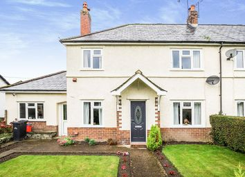 Thumbnail 3 bed semi-detached house for sale in Dolafon, Penybontfawr, Oswestry, Shropshire
