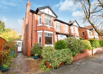 Thumbnail 4 bed semi-detached house for sale in Gaddum Road, Didsbury, Manchester