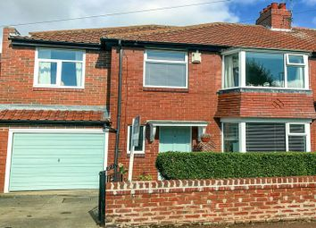 Thumbnail 4 bed semi-detached house for sale in Cragside, High Heaton, Newcastle Upon Tyne