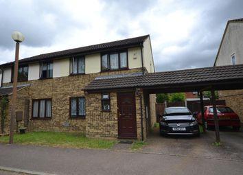 Thumbnail 3 bedroom semi-detached house for sale in Hepleswell, Two Mile Ash, Milton Keynes, Buckinghamshire