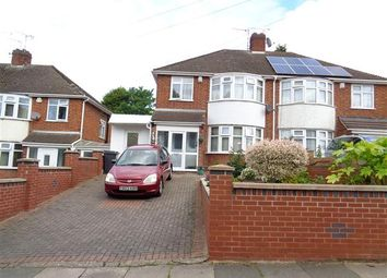 Thumbnail 3 bed semi-detached house for sale in Gwendolen Road, Leicester