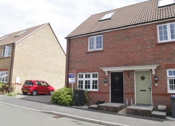 Thumbnail 2 bed semi-detached house for sale in Comet Crescent, Calne