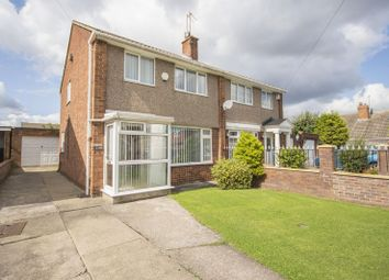 Thumbnail 3 bed semi-detached house for sale in Bowley Close, Normanby, Middlesbrough