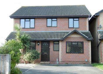 Thumbnail 4 bed detached house to rent in Wraxall Close, Canford Heath, Poole