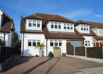 Thumbnail 3 bed semi-detached house for sale in Laburnham Gardens, Cranham, Upminster