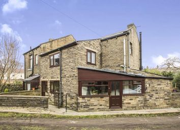 Thumbnail 3 bed semi-detached house for sale in Wyvern Terrace, Halifax, West Yorkshire, Halifax