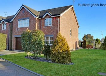 Thumbnail 4 bed detached house for sale in Boothstone Gardens, Yarnfield, Staffordshire