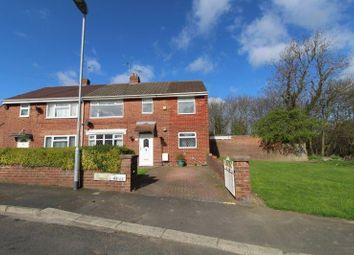 Thumbnail 4 bed semi-detached house for sale in Riverside Avenue, Choppington