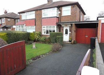 Thumbnail 3 bed semi-detached house for sale in Chatsworth Road, Hazel Grove, Stockport
