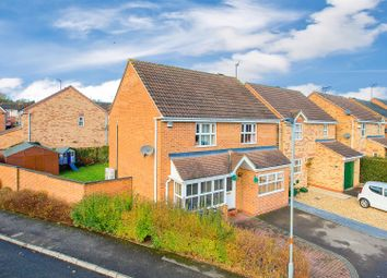 Thumbnail 3 bed detached house for sale in Merrivale Close, Kettering
