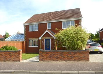 Thumbnail 4 bedroom detached house for sale in Redwing Rise, Royston
