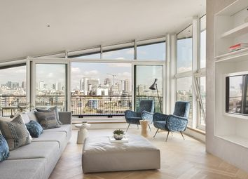Thumbnail 4 bed flat to rent in Bermondsey Wall West, London