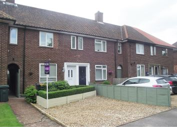 Thumbnail 3 bed terraced house for sale in Montgomery Close, Stewartby, Bedford