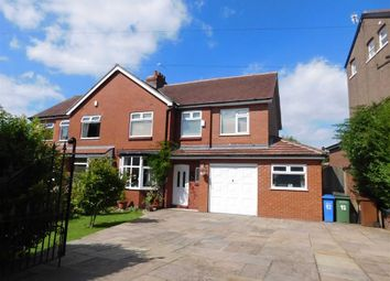 Thumbnail 4 bed semi-detached house for sale in Cross Lane, Marple, Stockport