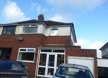 Thumbnail 3 bed semi-detached house to rent in Foxhill Road, Wolverhampton